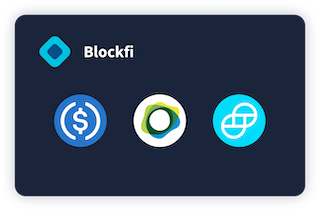 BlockFi Stablecoins Interest